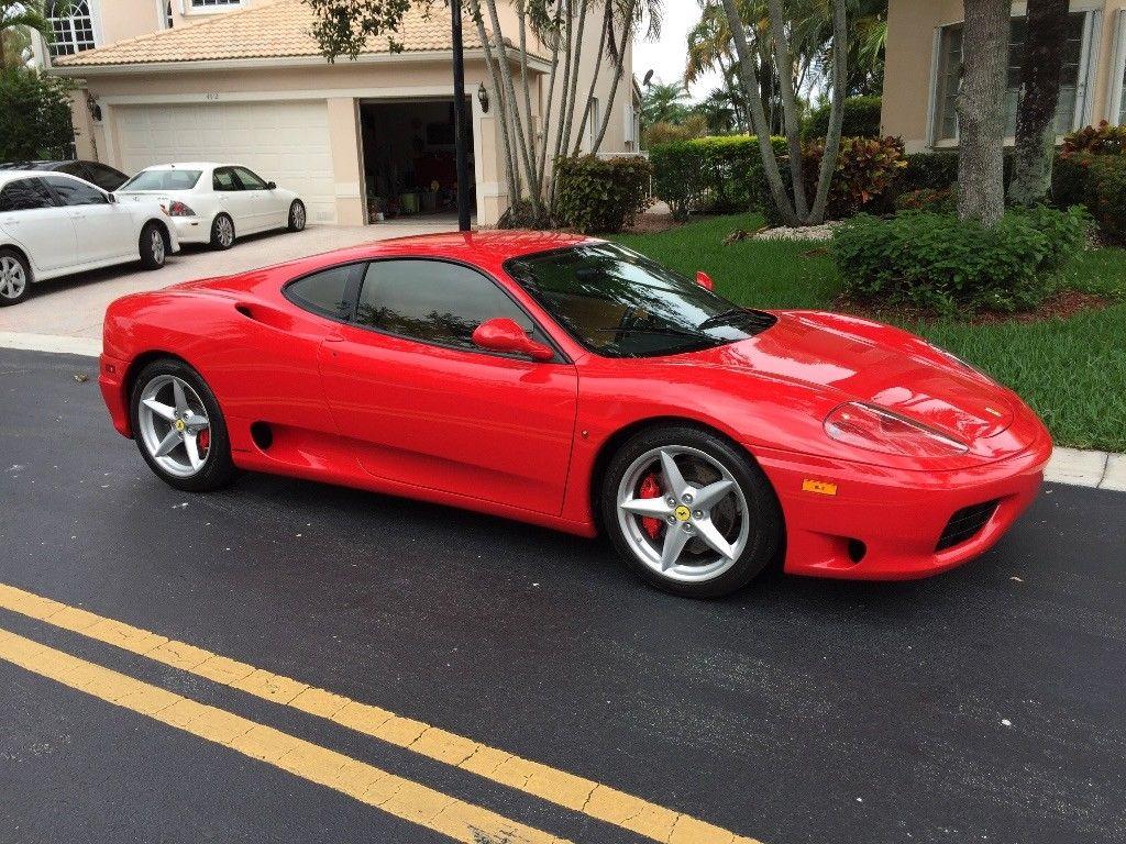 2001 Ferrari 360 Ferrari 360 Modena 2017 2018 Is In Stock And For Sale 24carshop Com