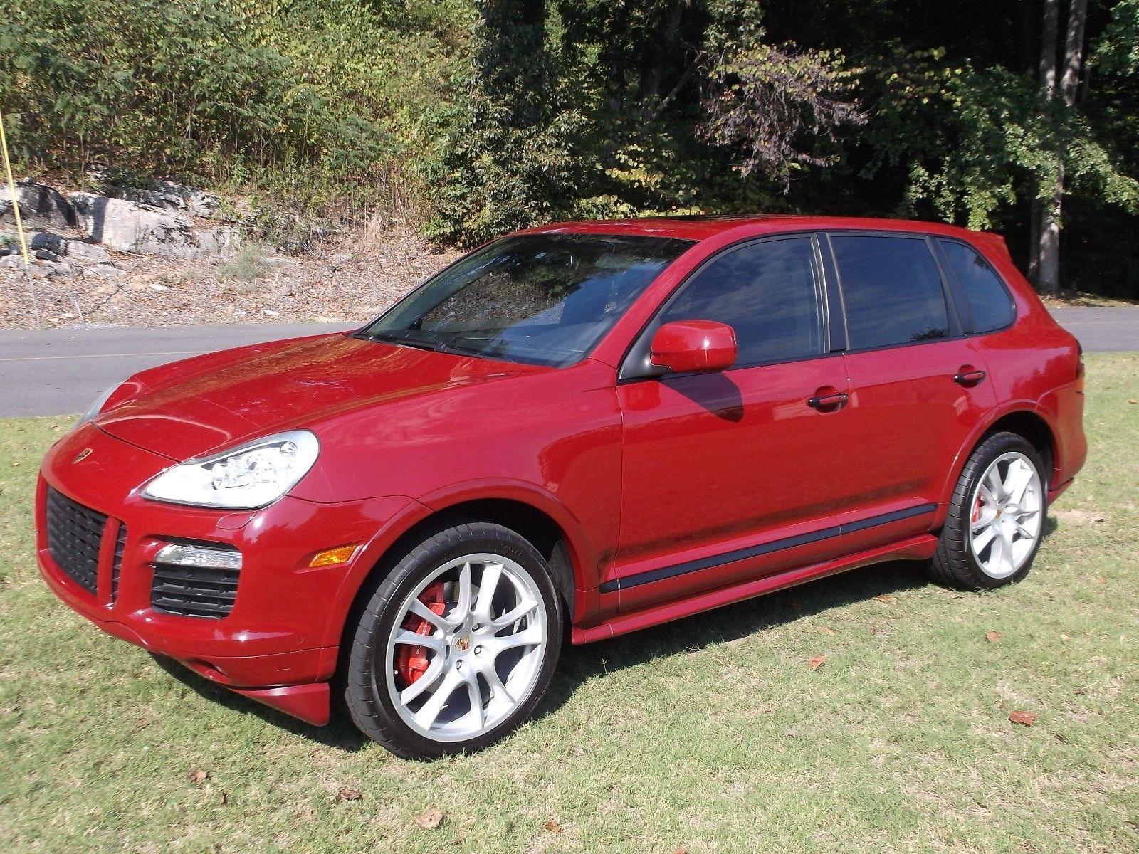 2009 Porsche Cayenne Gts 2009 Porsche Cayenne Gts In Gts Red With Black Alcantara Suede Style Interior 2017 2018 24carshop Com