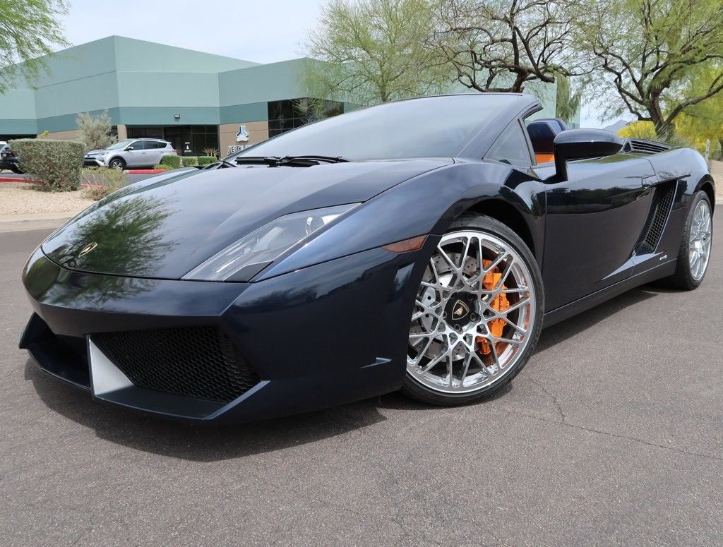 Amazing 2012 Lamborghini Gallardo LP 550 2 Spyder LP 550 2 Spyder 12k Miles  Recent Service New Clutch Rare Color 2011 2013 Lp550 2 2018 2019
