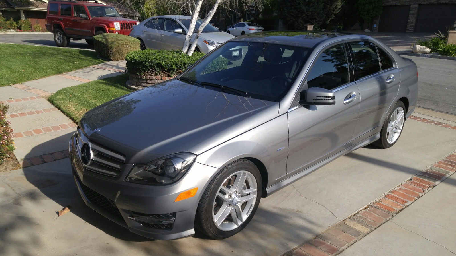 wheel mercedes used cars benz usa sport drive navigation c all auto house saugus at class