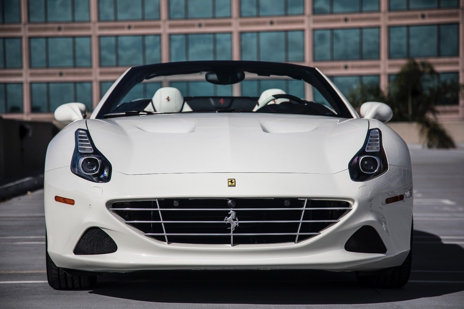 Amazing 2015 Ferrari California T 2015 Ferrari California T White Special Order White Interior 2018 2019
