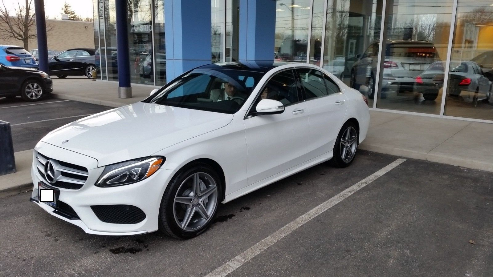 Amazing 2017 Mercedes Benz C Cl Sport C300 4matic Awd Turbo Loaded Navigation Blindspot Amg 2018