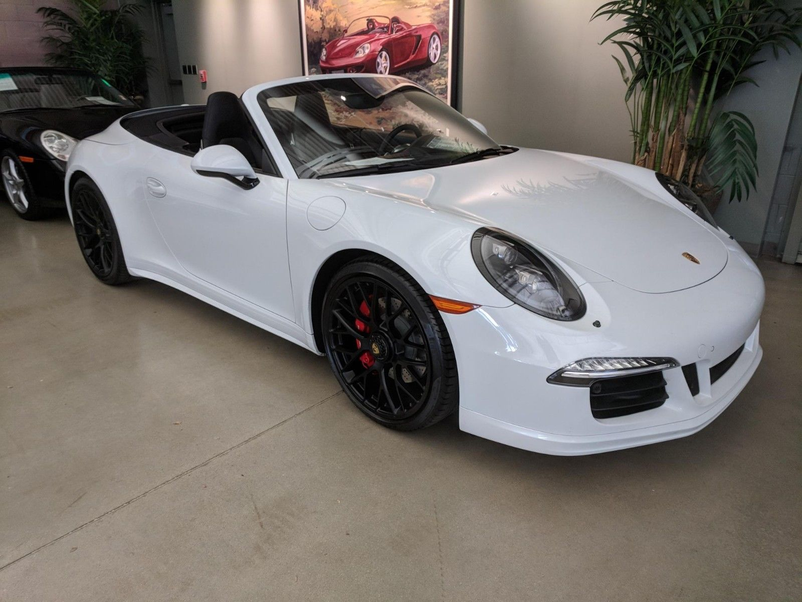 2016 Porsche 911 Carrera 4 Gts Cabriolet Port Seats Led Headlights Low Low Miles Porsche Factory Certified Flawless 2017 2018 24carshop Com