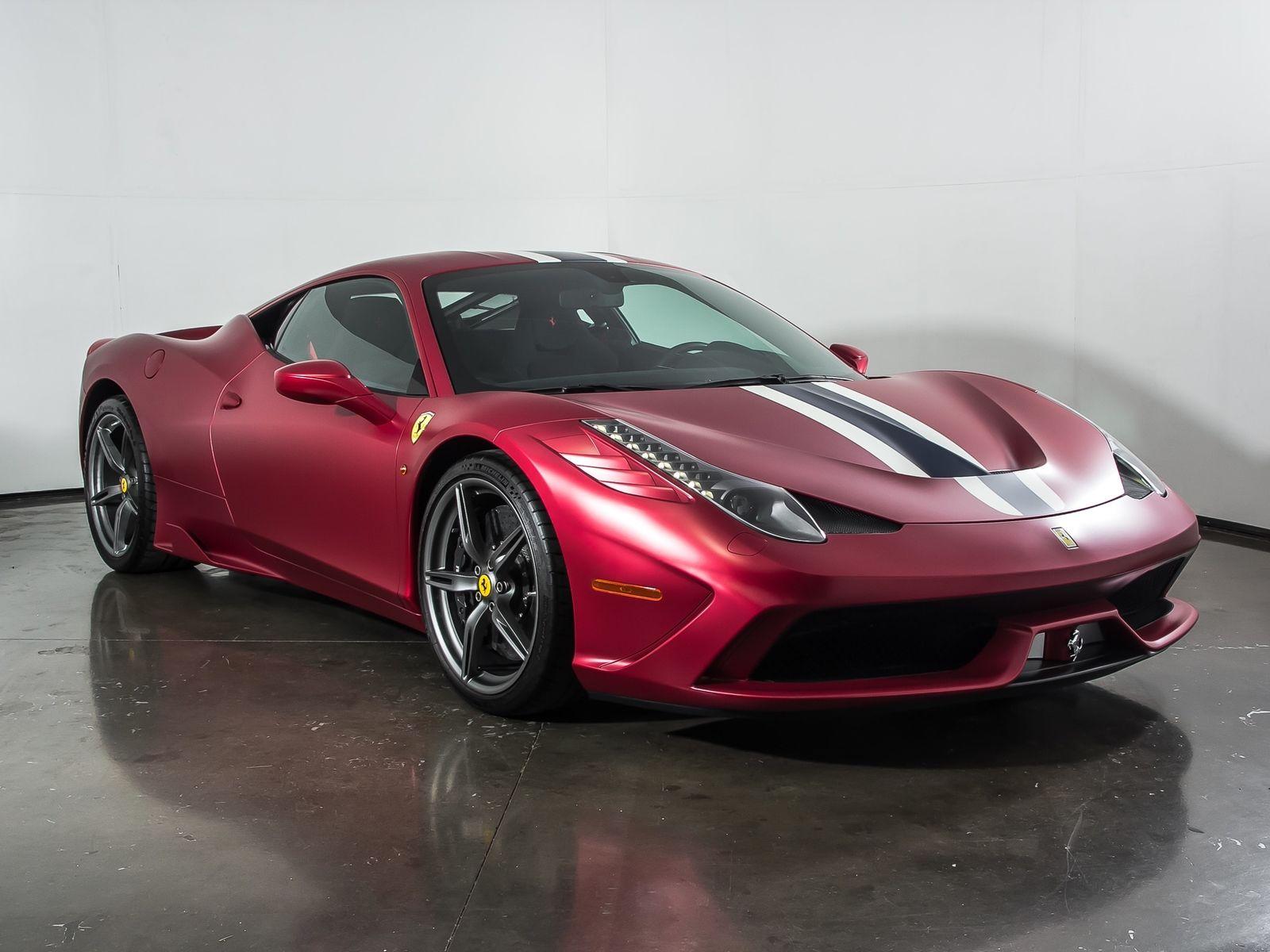 2015 Ferrari 458 Speciale >> Great 458 2015 Ferrari 458 Speciale 2 000 Miles Rosso