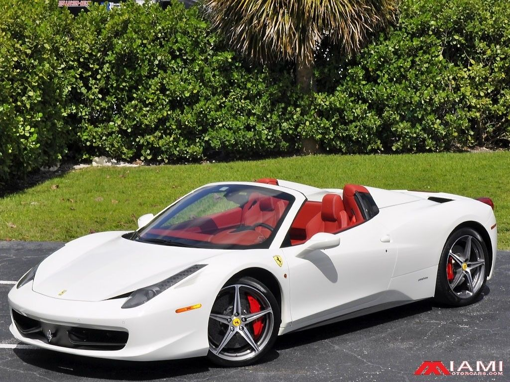 great 458 italia 3k miles !! huge msrp 2014 ferrari 458 spider 3k