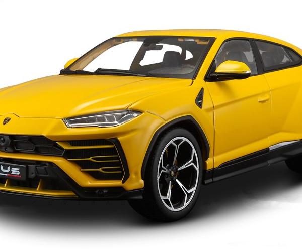 Great Bburago 1 18 Lamborghini Urus Metal Diecast Model Car Yellow