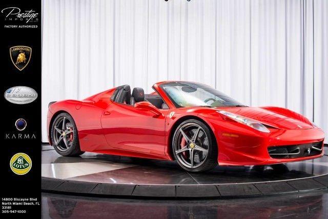 Great Ferrari 458 2017 Spyder 2018
