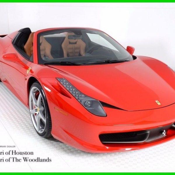 Awesome Ferrari 458 2014 Ferrari 458 Spider Ferrari Approved