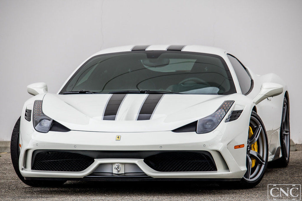 Ferrari 458 Speciale 2015 Ferrari 458 Italia Speciale Coupe White Bianco Avus Huge Msrp 1 329 Miles 2017 2018 Is In Stock And For Sale 24carshop Com