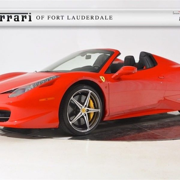 Amazing Ferrari 458 Spider 2015 Convertible Certified Pre