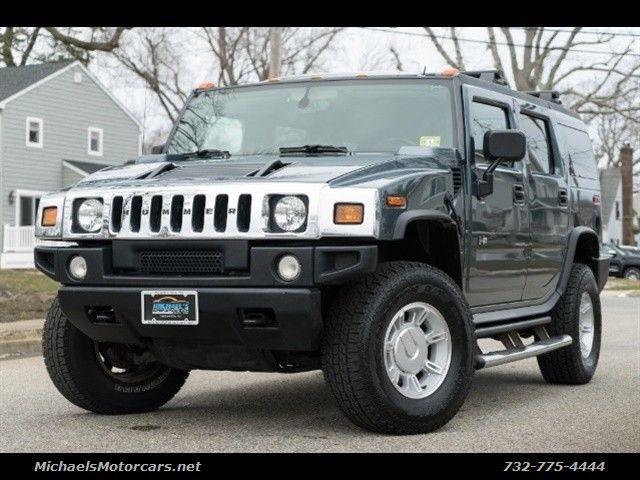Great H2 2005 Hummer 111118 Miles Stealth Gray 6 0l Na V8 Overhead Valves Ohv 16v 2017 2018