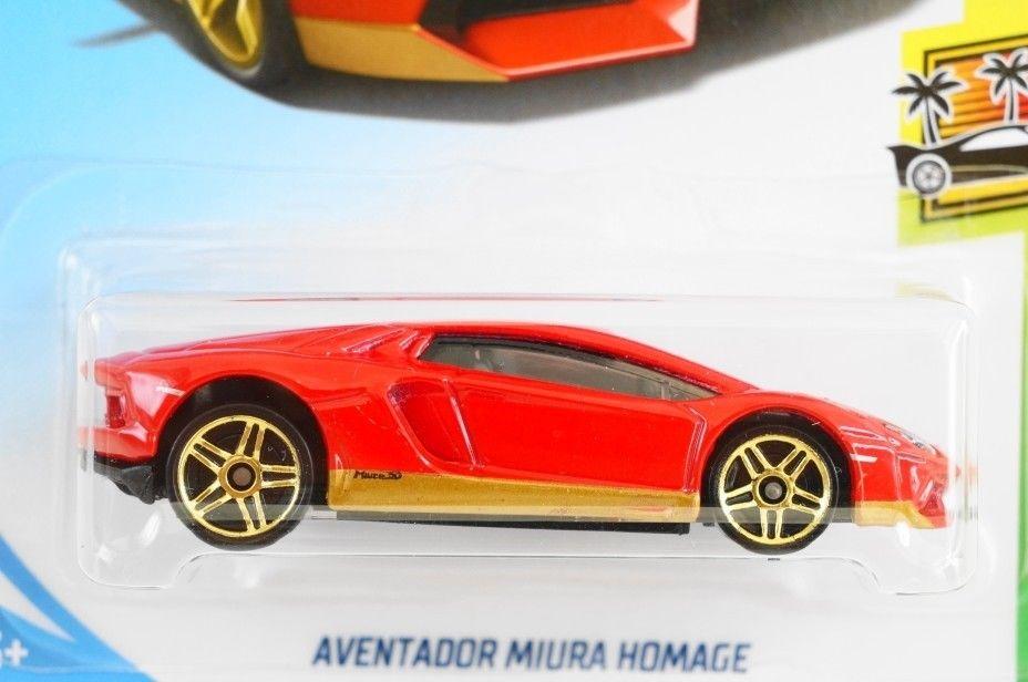 Awesome Hot Wheels 2018 239 Aventador Miura Homage Lamborghini