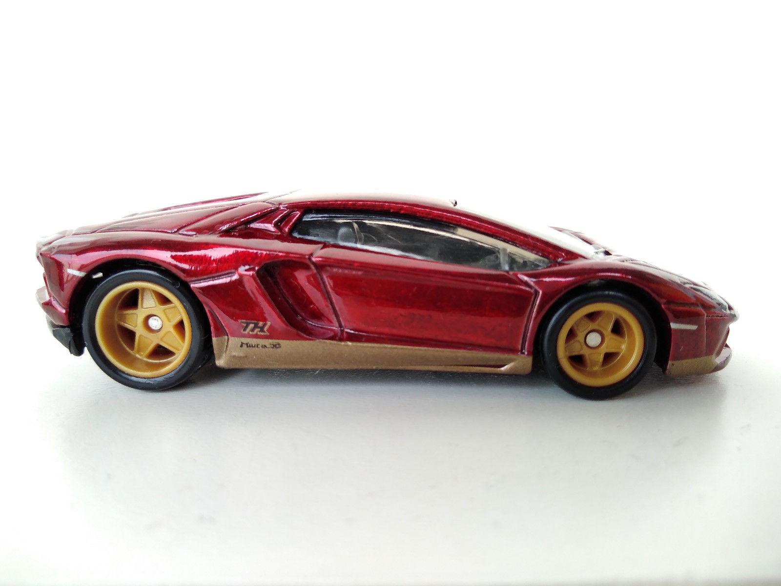 Great Hot Wheels 2018 Super Treasure Hunt Lamborghini Aventador
