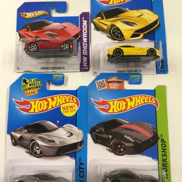 Great Hot Wheels Ferrari Lot