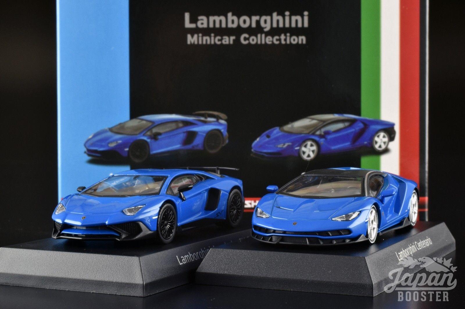 Amazing Kyosho 1 64 Lamborghini Centenario Aventador Sv Coupe Blue