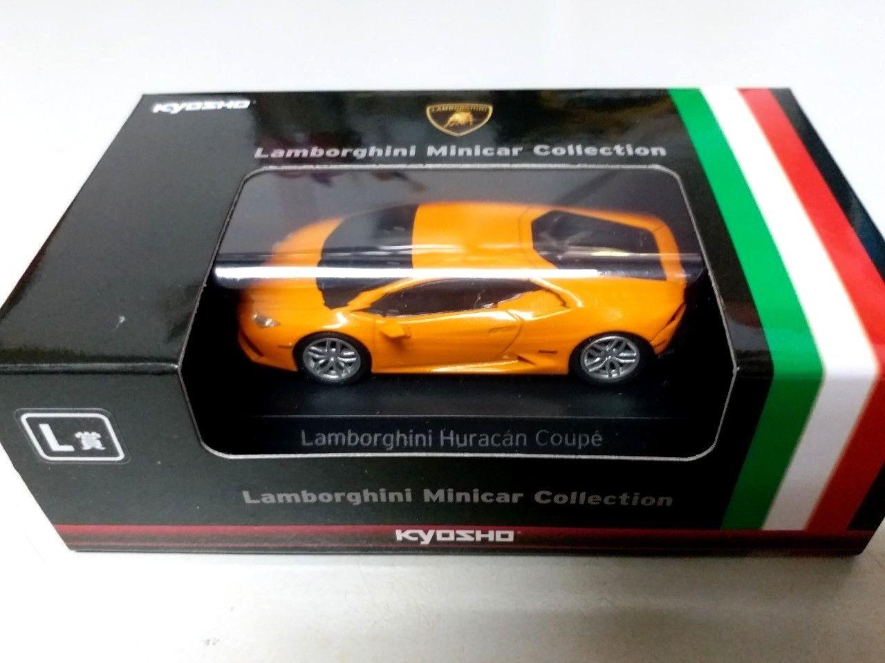 Great Kyosho Model 1 64 Lamborghini Huracan Coupe Orange 2018 2019