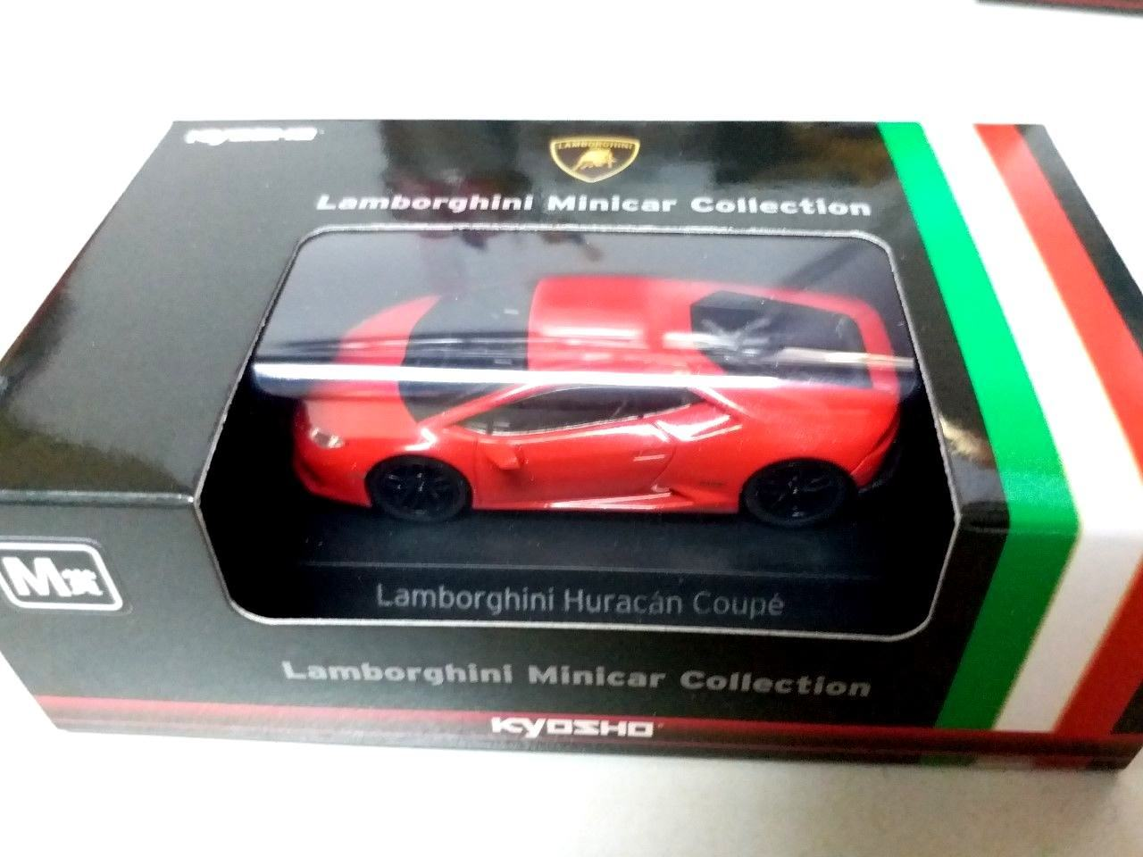 Great Kyosho Model 1 64 Lamborghini Huracan Coupe Red 2018 2019