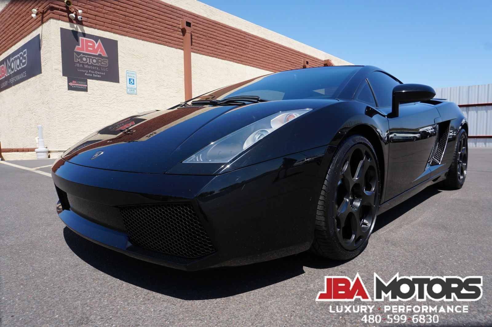 Superb Amazing Lamborghini Gallardo Coupe 2005 Black Coupe! 2018 2019