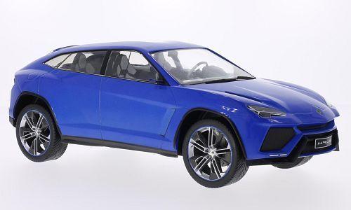 Awesome Mcg 2012 Lamborghini Urus Blue Color 1 18 Rare Find Nice