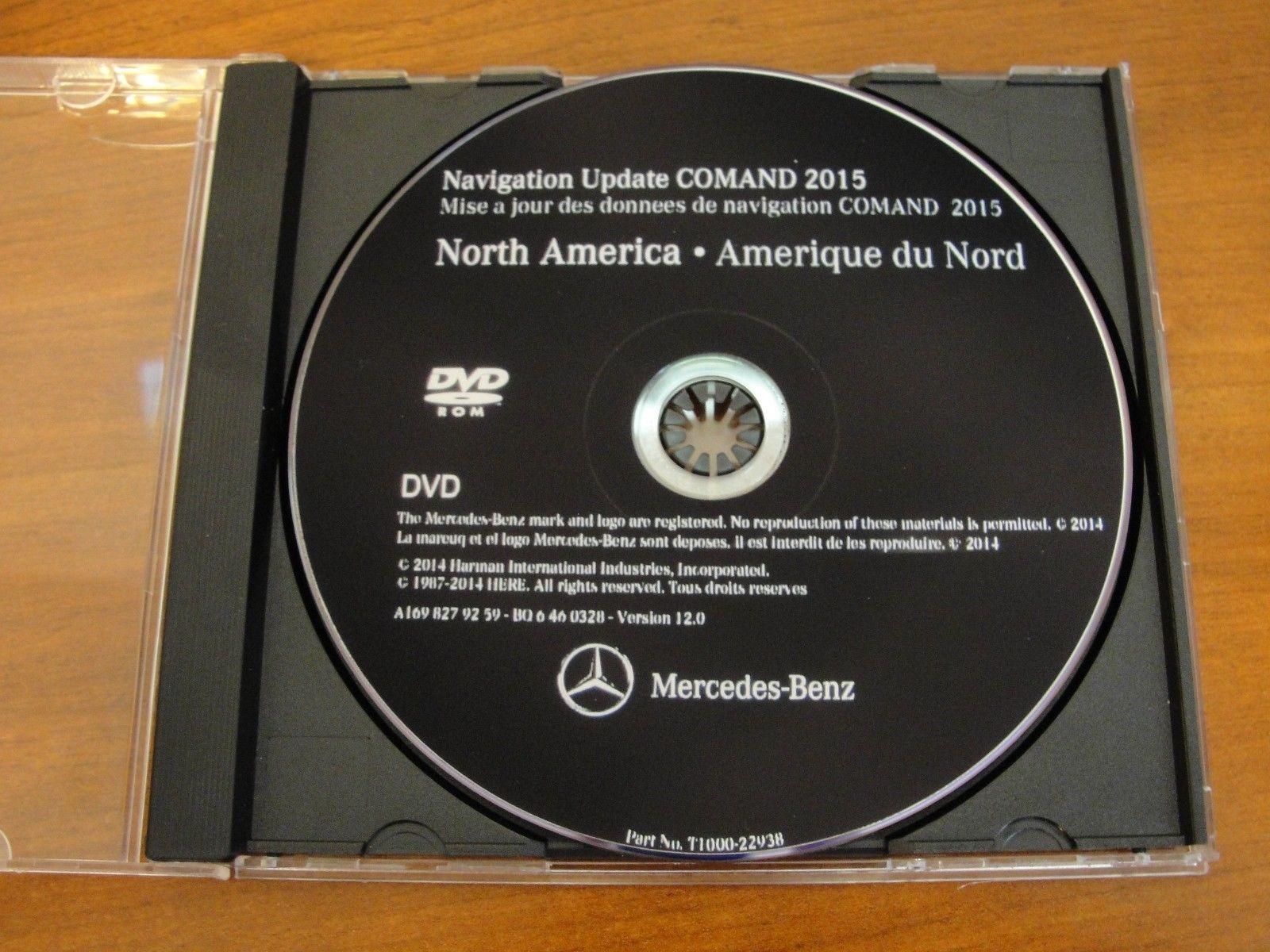 Great Mercedes NTG2 (MCS II) DVD Comand Aps North America v12 2015  Navigation DVD Maps 2017/2018