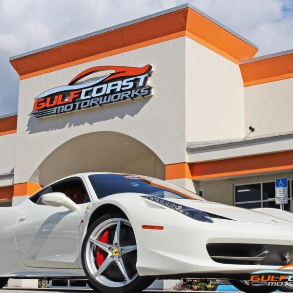 Awesome Other 2012 Ferrari 458 Italia White W Red Factory Racing