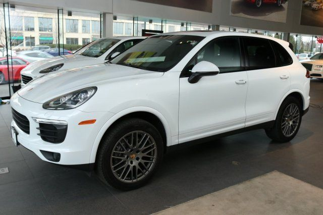 Great Porsche Cayenne 2017 SUV Used Premium Unleaded V 6 3 6 L 220 8