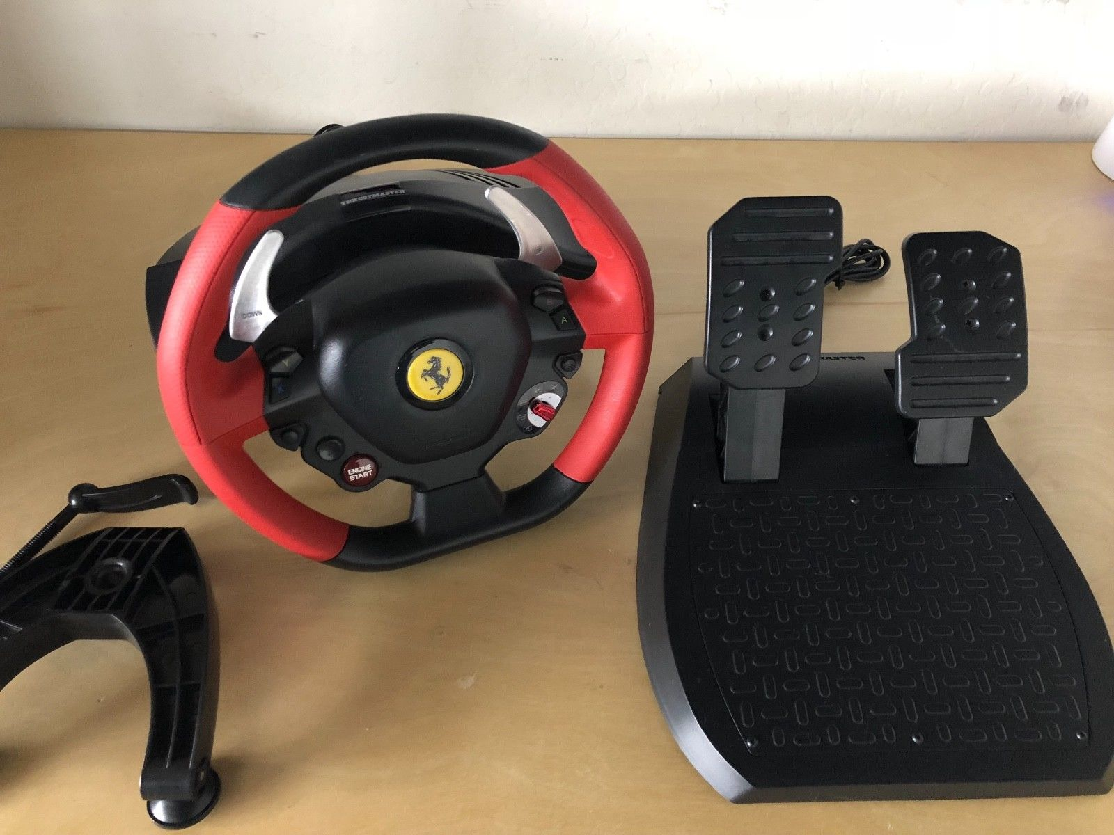 Great Thrustmaster Ferrari 458 Spider Racing Wheel For Xbox