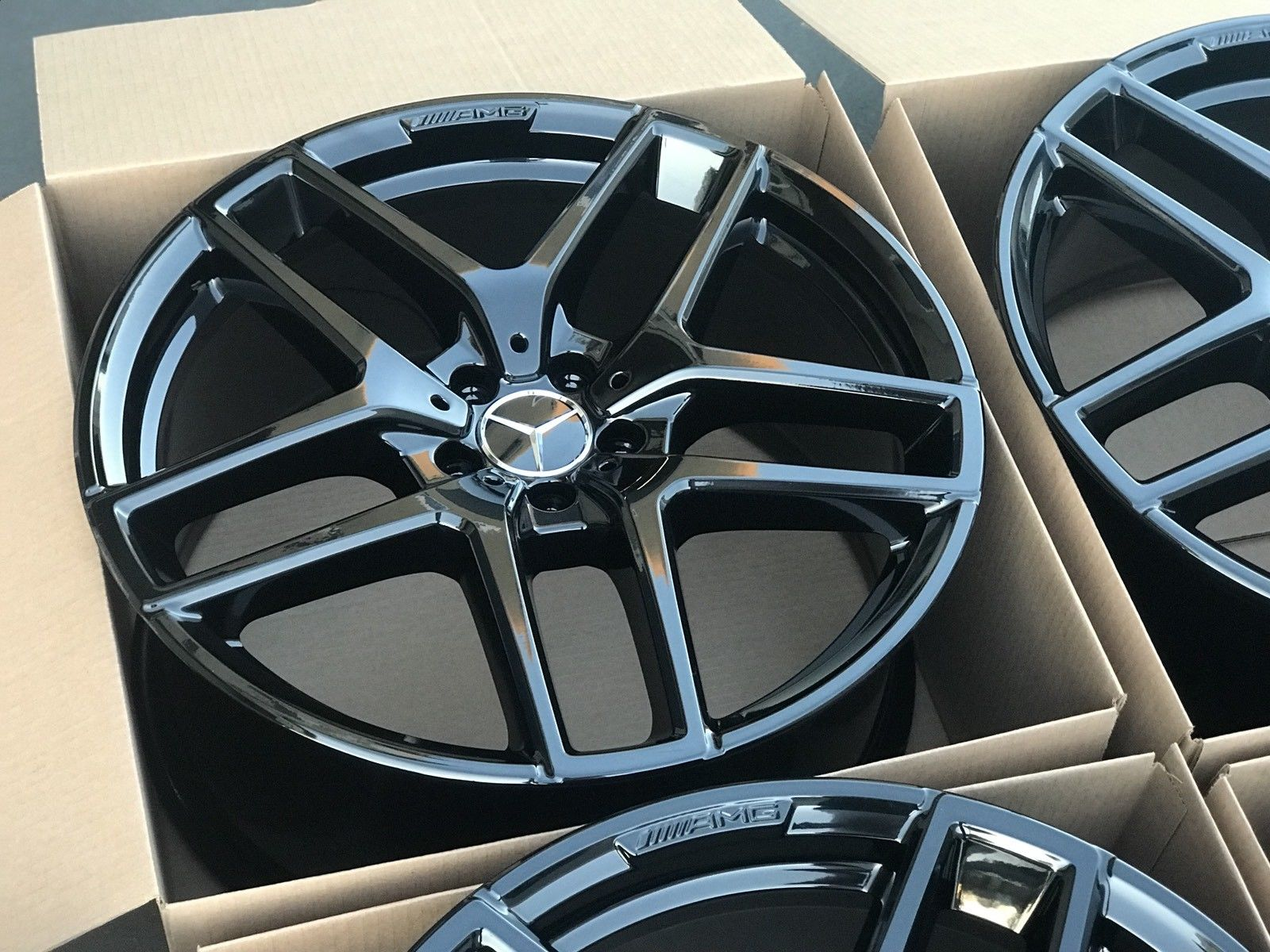Honda Factory Rims >> Amazing 21″ Mercedes GLE Factory AMG Wheels OEM Rims GLE63 GLE400 GLE300 ML 21 Black 2017 2018 ...