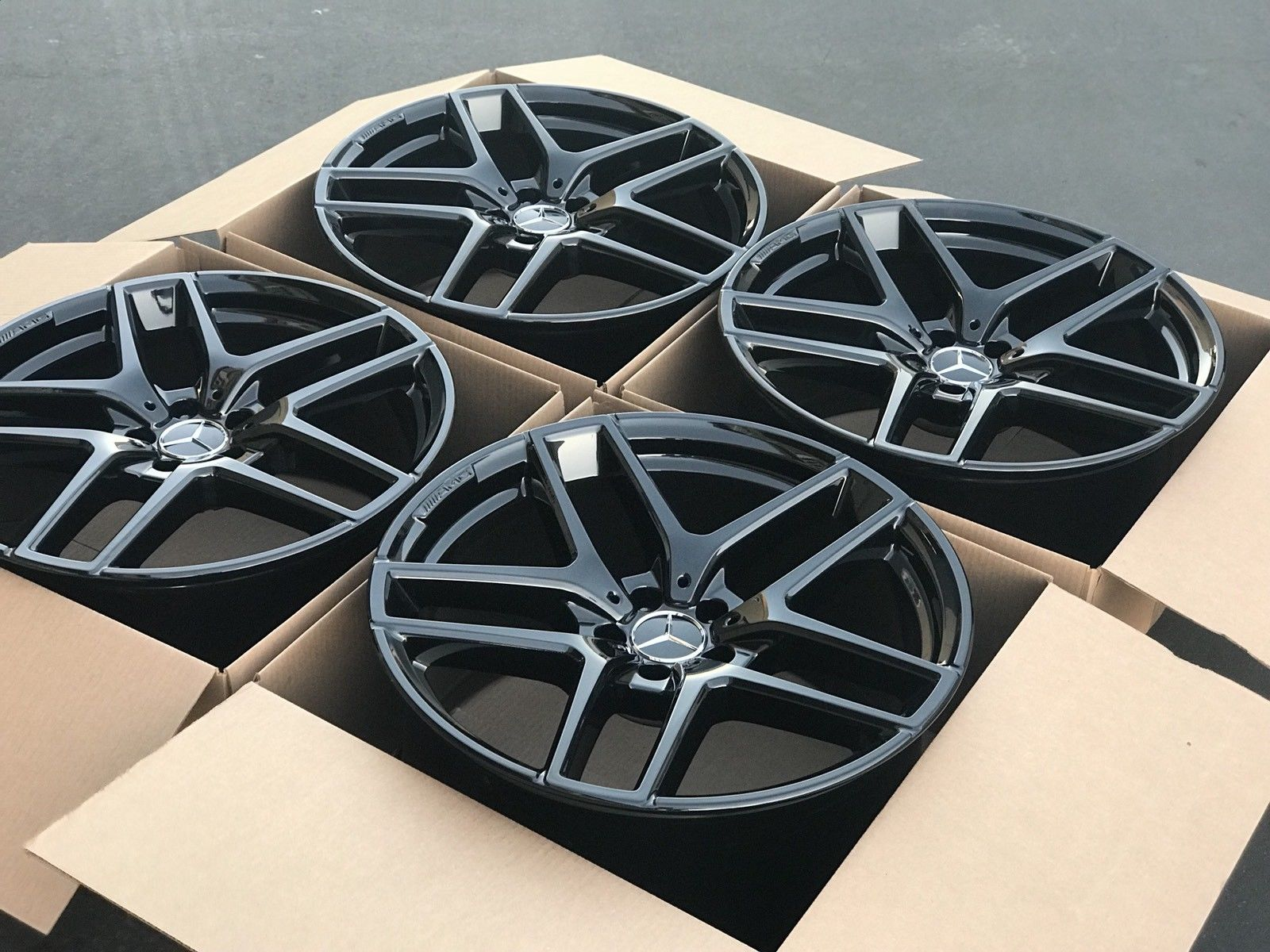 2018 Prius Prime >> Amazing 21″ Mercedes GLE Factory AMG Wheels OEM Rims GLE63 ...