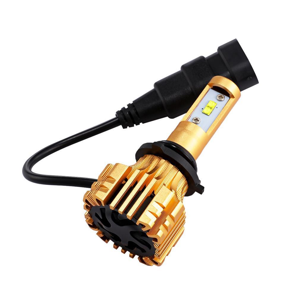 Amazing 2018 Cree LED Headlight Kit 9006 HB4 9012 1280W 6000K 190000LM  Bulbs Pair HID 2017/2018