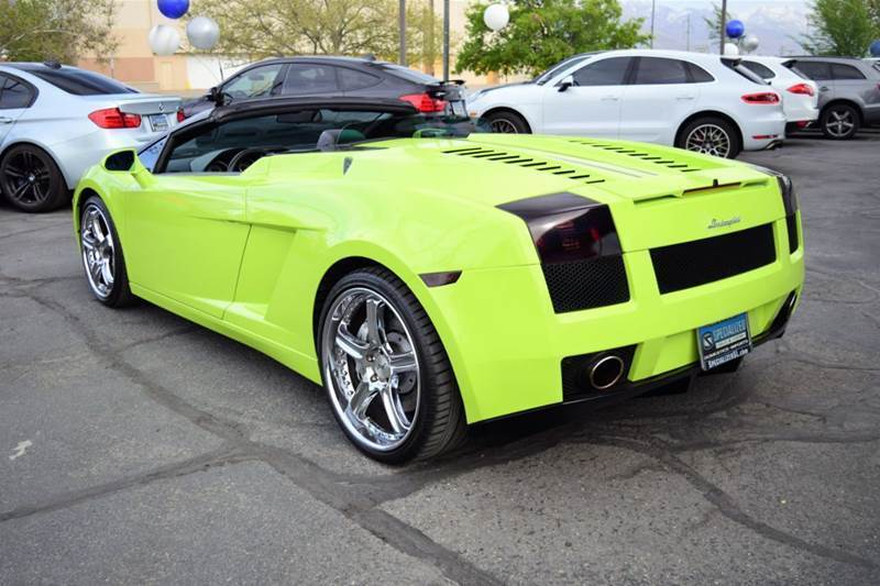 Great Gallardo Spyder Awd 2dr Convertible 2008 Lamborghini