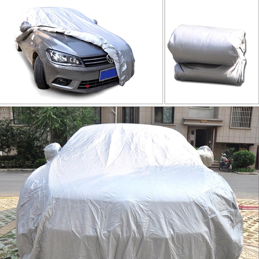 In Out Door Dust UV Ray Rain Snow Full Auto CoverFor SUV Van Truck WaterProof