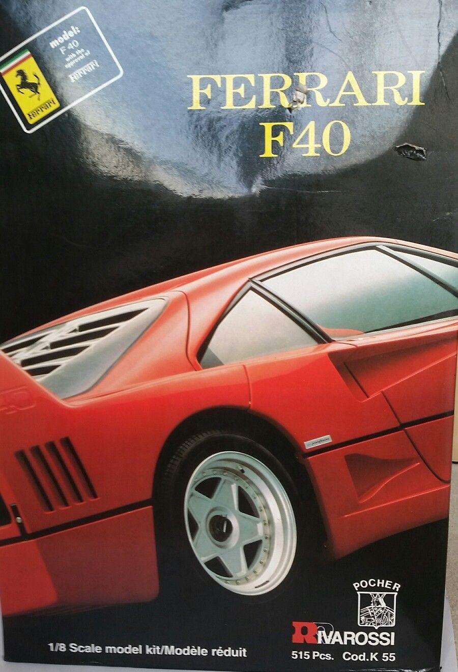Ferrari F40 transkit I for Pocher 1//8