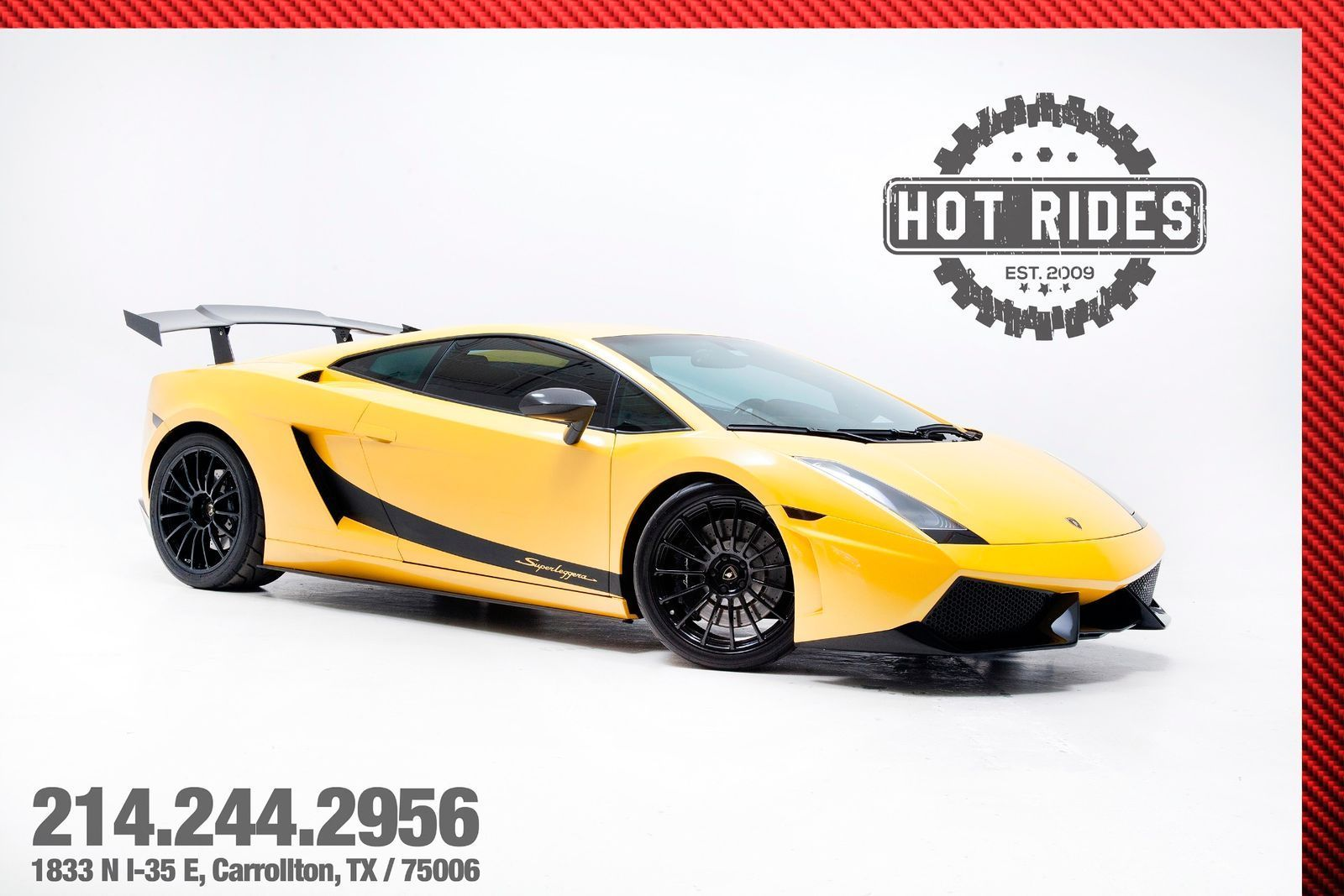 Amazing Lamborghini Gallardo Superleggera Twin Turbo Dallas
