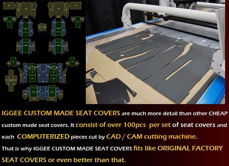 PORSCHE BOXSTER 1997-2004 GRAY VINYL CUSTOM MADE FIT FRONT SEAT COVERS