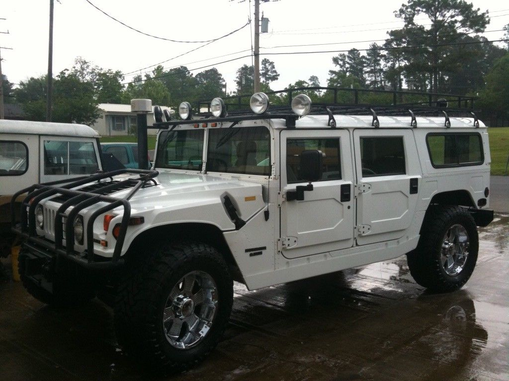 Hummers For Sale >> Great 1997 Hummer H1 1997 H1 Hummer Wagon White 2018-2019 ...