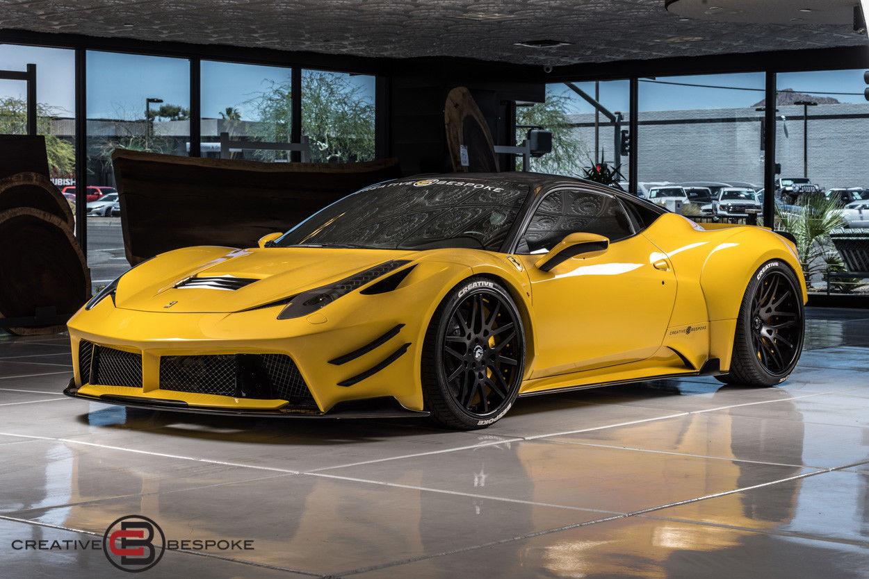 Amazing 2012 Ferrari 458 2012 Ferrari 458 Italia WIDE BODY PD458 EDDITION ,  SEMA CAR,$100K IN UPGRADES 2017 2018