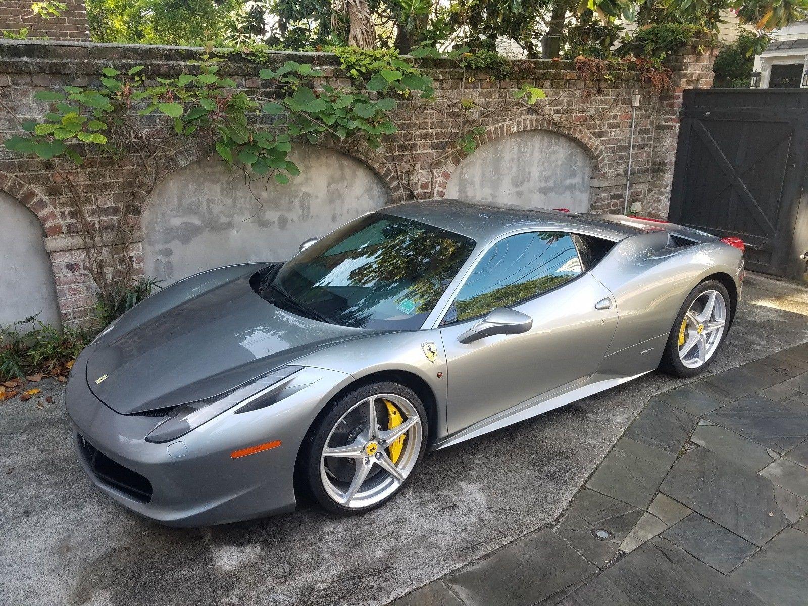 Great 2014 Ferrari 458 Base Coupe 2 Door 14 Grigio Titanio 458 Coupe