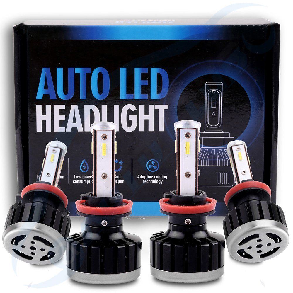 2018 H11 H9 Led Headlight 3800w 420000lm High Low Beam Fog