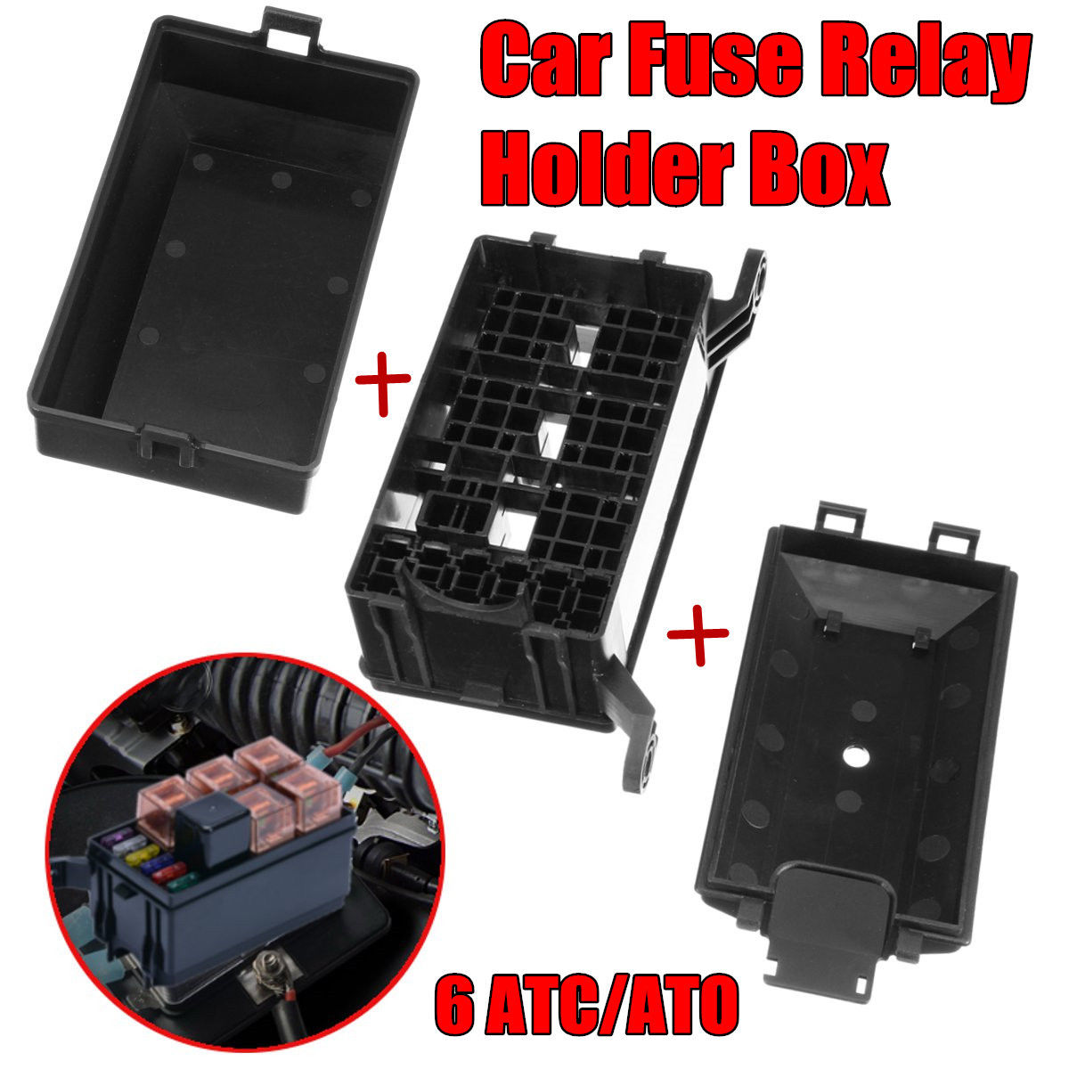 Awesome Autos Relay Fuse Box 6 5 Road Compartment Insurance Vehicle Cover Car Holder 2017 2018