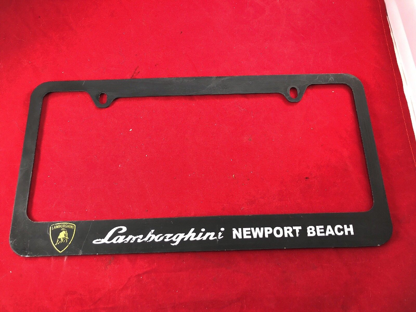 Awesome California Lamborghini Newport Beach Metal dealer License ...