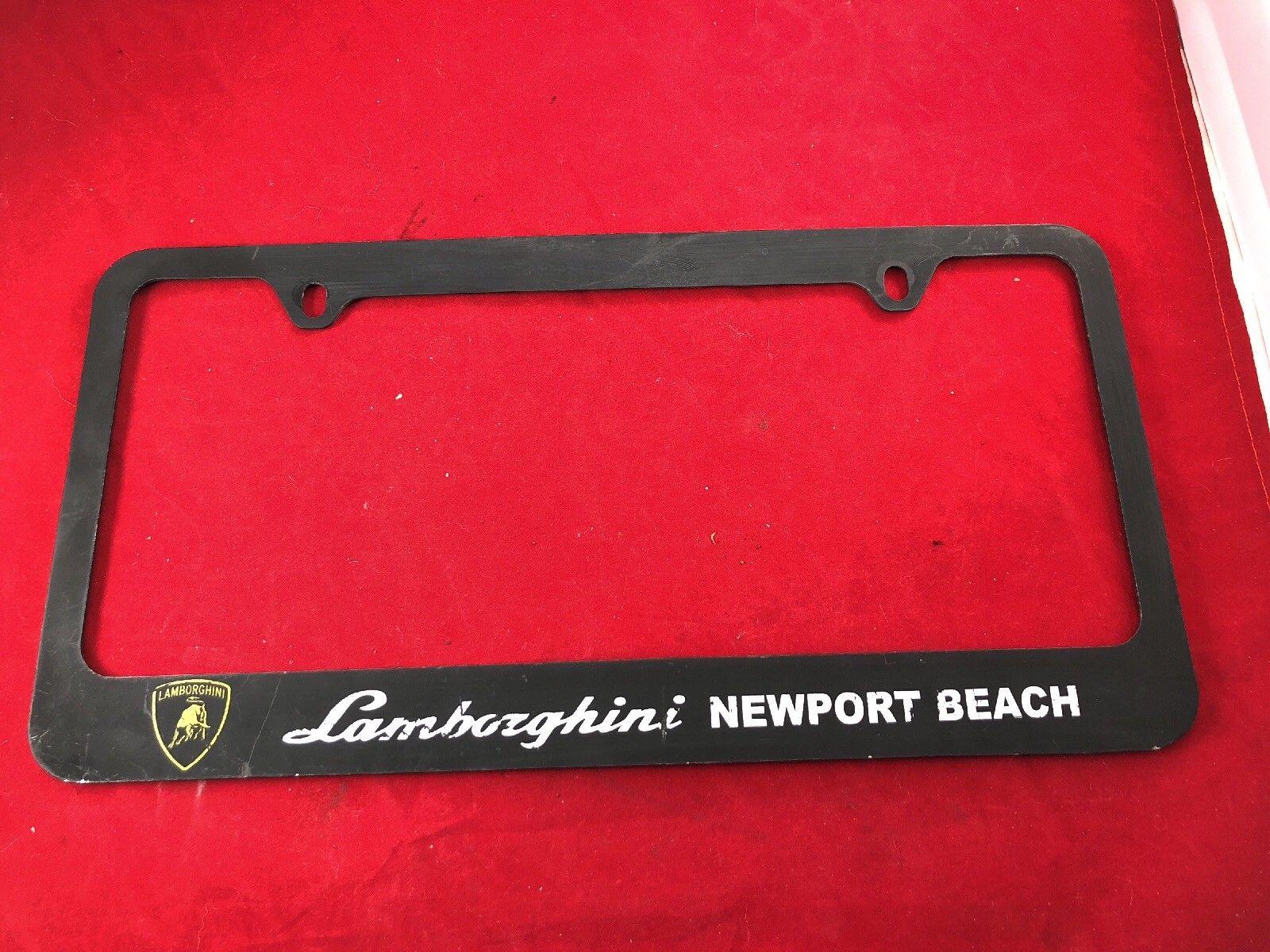 Awesome California Lamborghini Newport Beach Metal dealer License ...