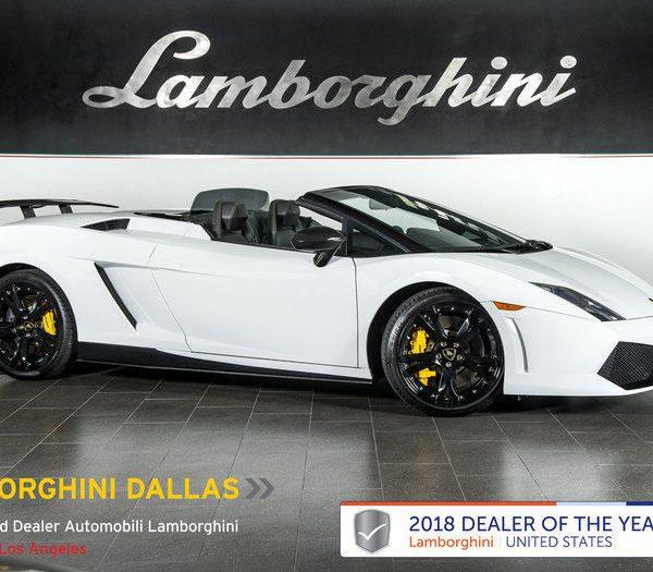 Awesome Lamborghini Gallardo LP550-2 Spyder LOW MILES