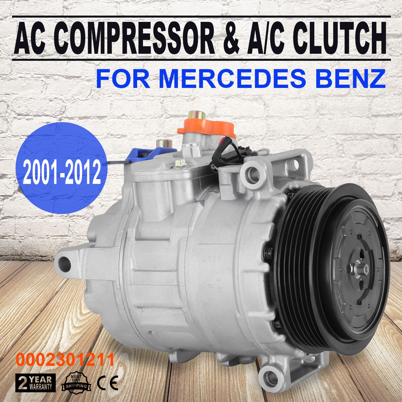 A//C Compressor-New Global 6512217