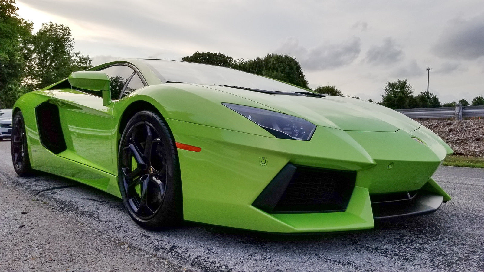 Used Tesla Model S For Sale >> Awesome 2013 Lamborghini Aventador LP700-4 Verde Ithaca / Nero Ade, Iperione Wheels, Carbon ...