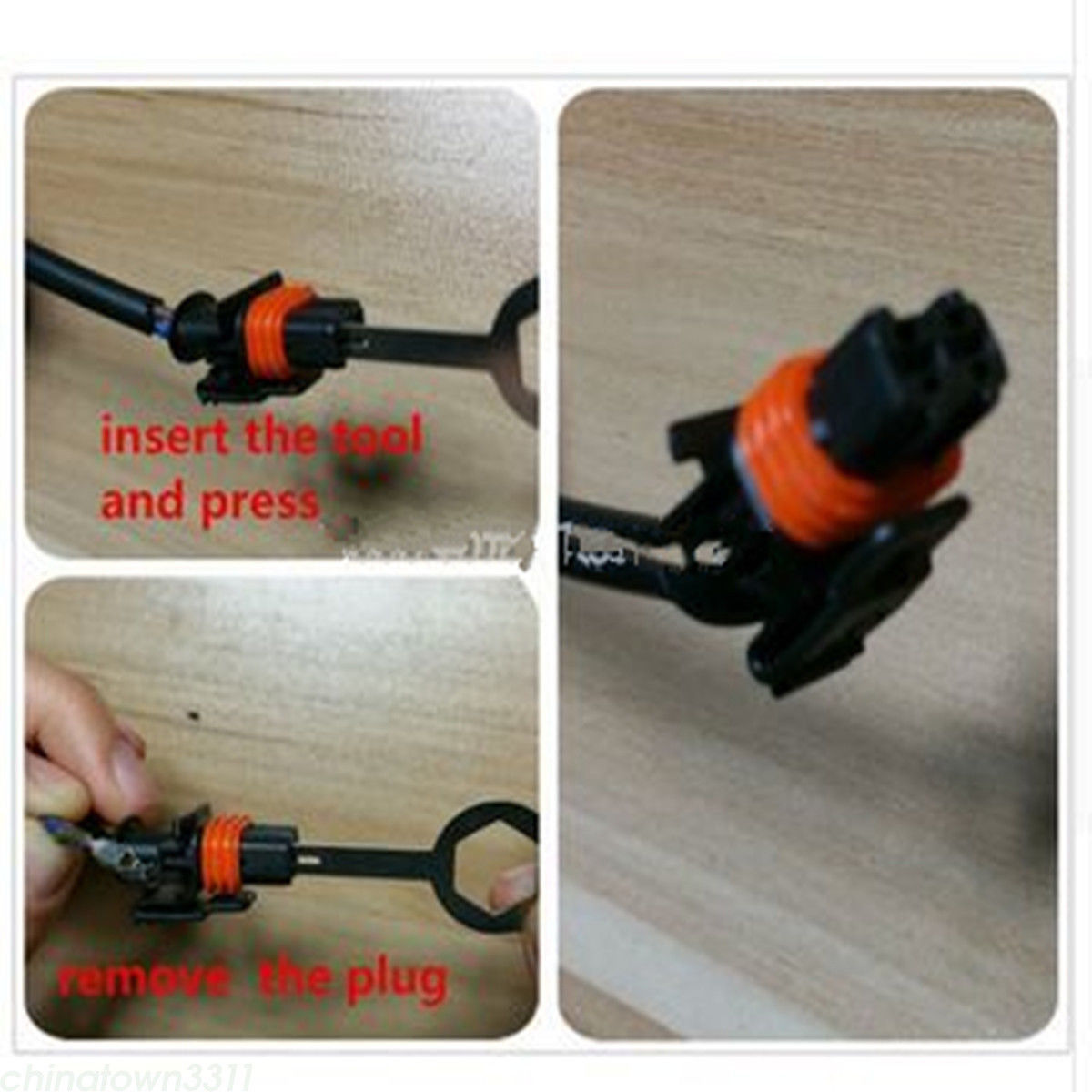 Great Car Plug Circuit Board Wire Harness Terminal Extractor Pick Wiring Connector Tool 11pcs 2017 2018