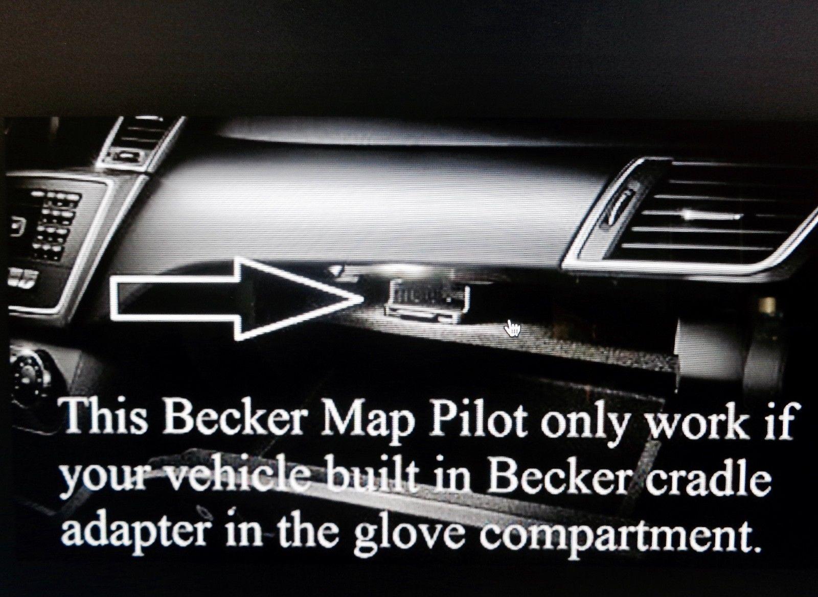 Great Latest 2013 -2016 Mercedes GLK SLK CLA C Becker Map Pilot Navigation  U S Q2/2019 2017/2018