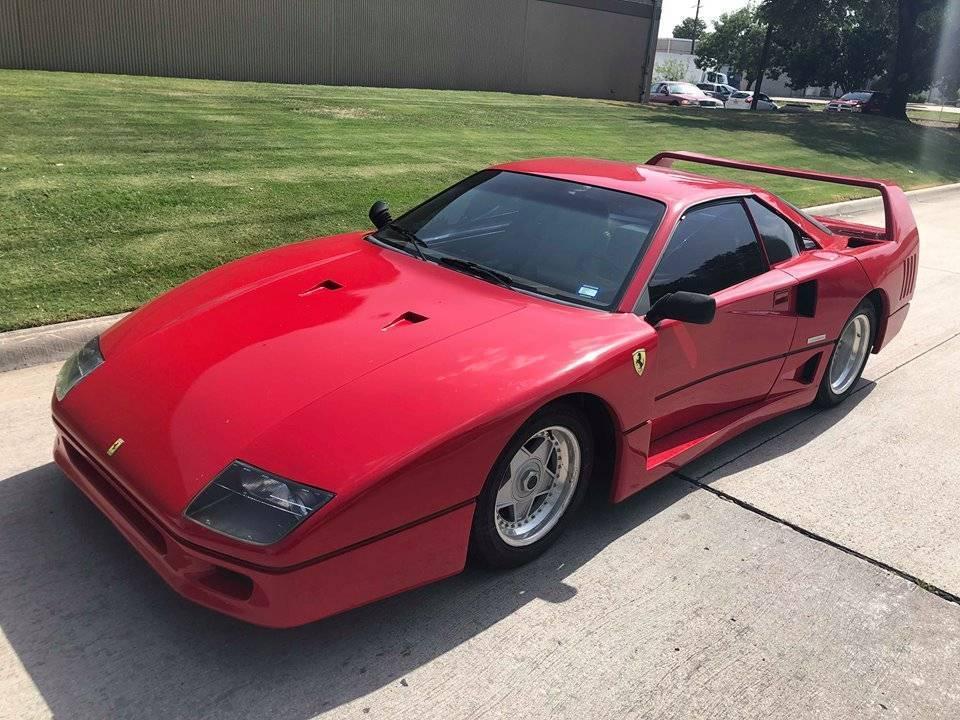 Used 1987 Replica Kit Makes 1987 Pontiac Fiero Ferrari