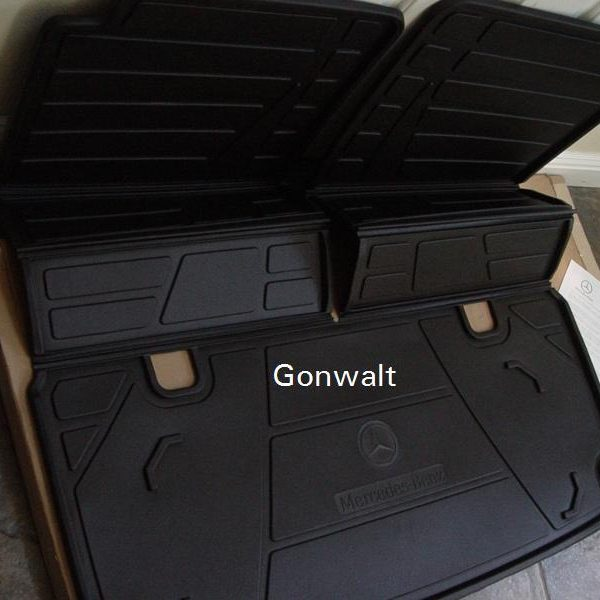 Awesome Mercedes Benz Foldable Trunk Cargo Area Tray Gl Class X164 X166 Genuine Oem 2017 2018