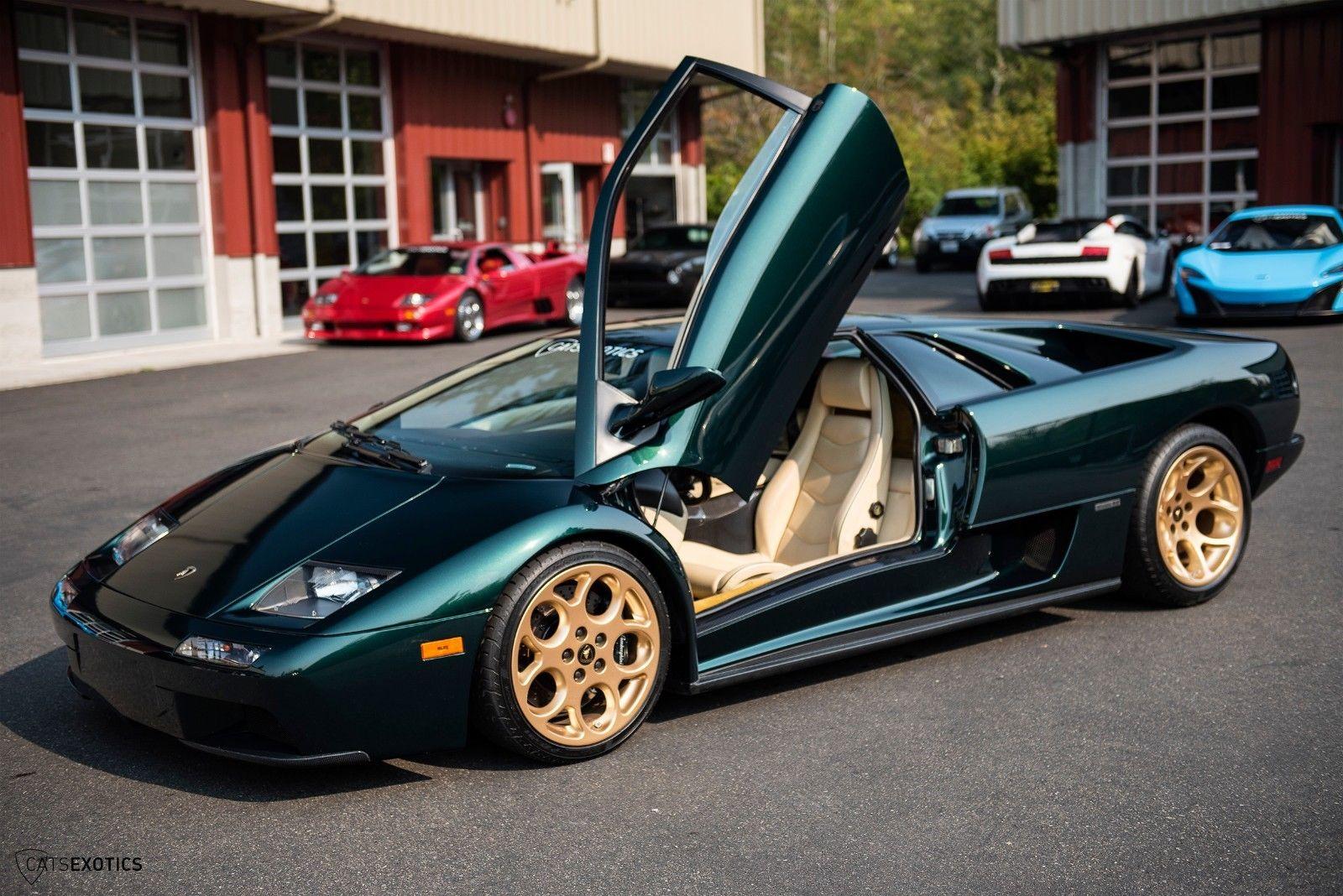 Great 2001 Lamborghini Diablo 6 0 Vt 2 Owner Car Driven Exotics Exhaust Clear Bra Service Just Performed 2017 2018